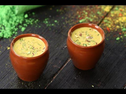 Thandai   Holi Special Recipe   Sanjeev Kapoor Khazana