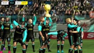 Dream league soccer 14-15 ep2 (final contre le barça)
