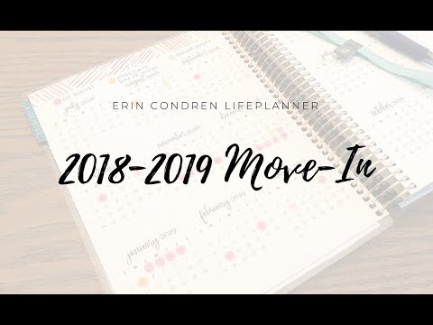 2018-2019 LifePlanner Move-In