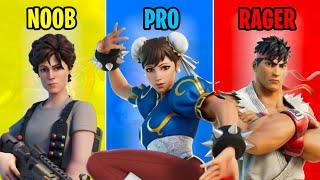 NOOB vs PRO vs RAGER - Fortnite #51