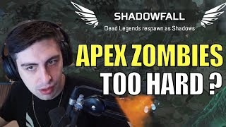 SHROUD ▪ FIRST WIN On APEX Zombie Mode【Shadowfall】