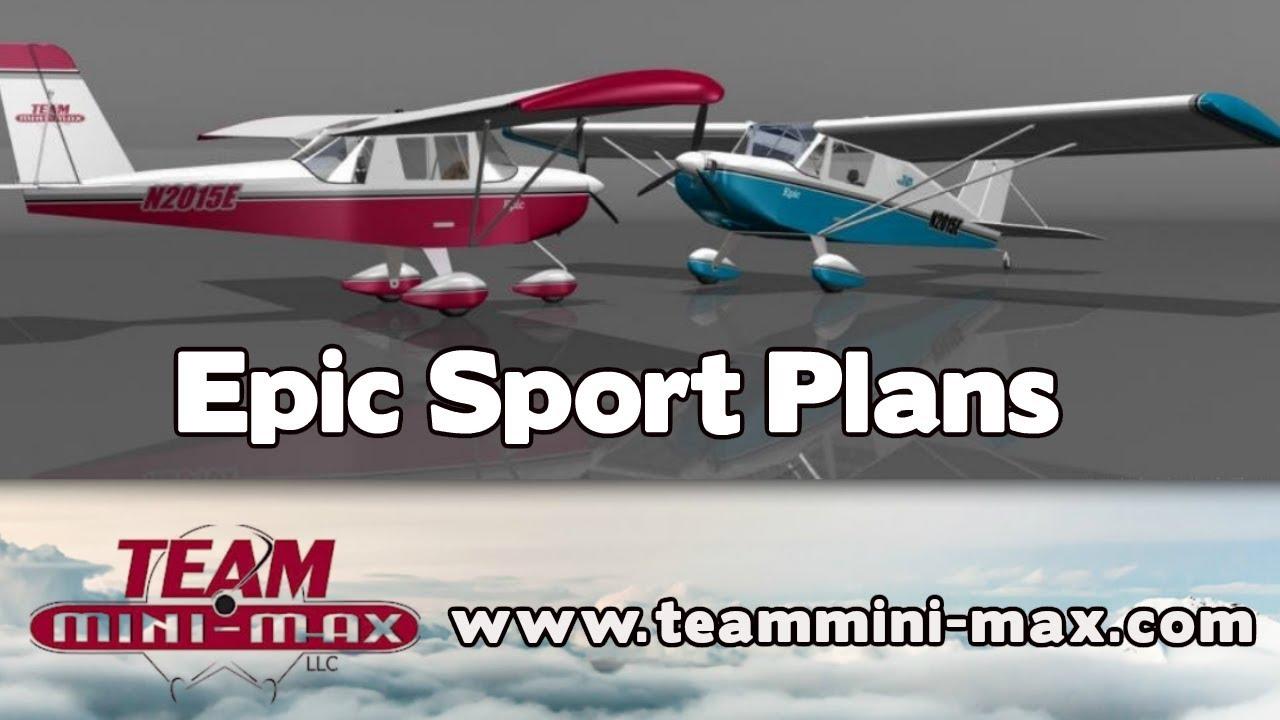 Team Minimax Epic Sport Minimax Ultralight Hi Max Eros Aeromax Supermax Experimental Aircraft Youtube