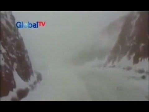 Video Hujan Salju Turun di Arab Saudi, Gurun Pasir Berubah Jadi Putih - BIP 01/12