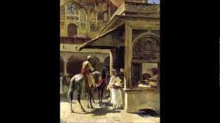 Baligh Hamdi & Magid Khan - Lahore - Edwin Lord Weeks - Orientalist Paintings Thumbnail