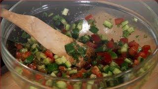 Israeli Salad  - Mad Hungry With Lucinda Scala Quinn