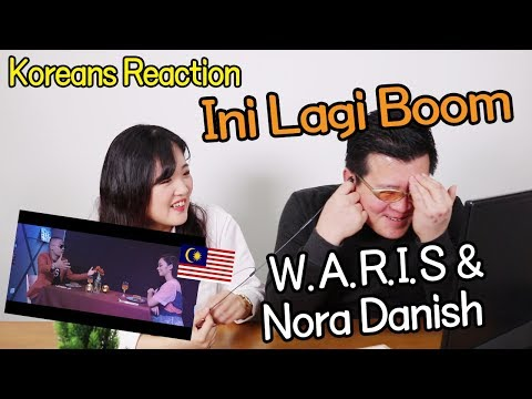 W.A.R.I.S & Nora Danish - Ini Lagi Boom Reaction [Koreans React] / Hoontamin