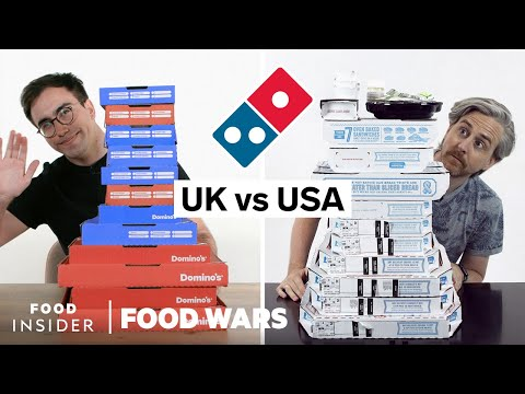 US Vs UK Domino's | Food Wars