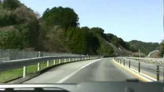 西九州自動車道~長崎県東彼杵郡波佐見町へ 2012.3.31. ‐1