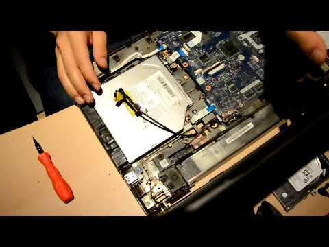 Lenovo G500 power jack or port replacement - with disassembly