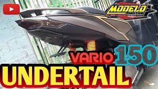 MODIF VARIO 150 | UNDERTAIL VARIO 150 #modelomotor #hondavario