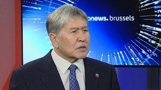 Atambayev: 'AB Kırgızistan'a çok uzak'