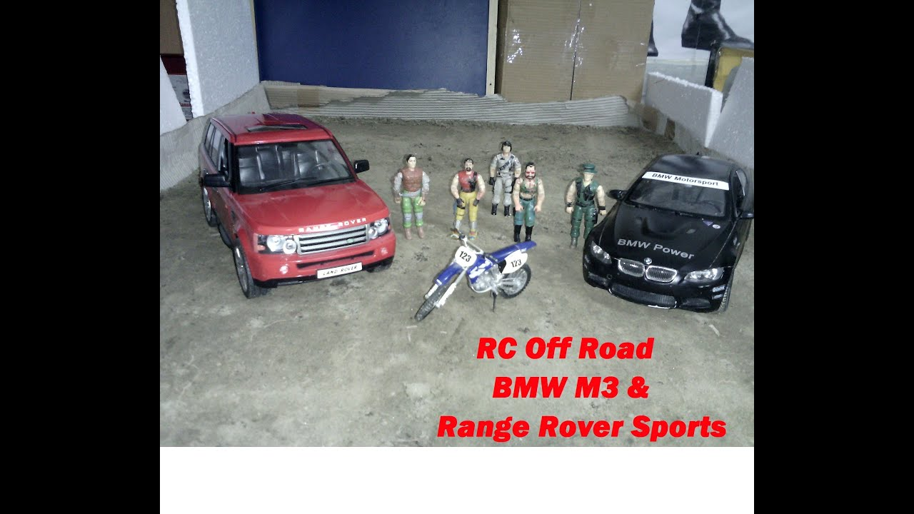 rastar rc bmw m3 range rover sports 1 14 off road drive. Black Bedroom Furniture Sets. Home Design Ideas