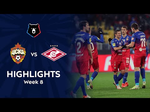 CSKA Moscow Spartak Moscow Goals And Highlights