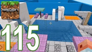 Minecraft: PE - Gameplay Walkthrough Part 115 - Find The Button: Extra Hard Edition (iOS, Android)