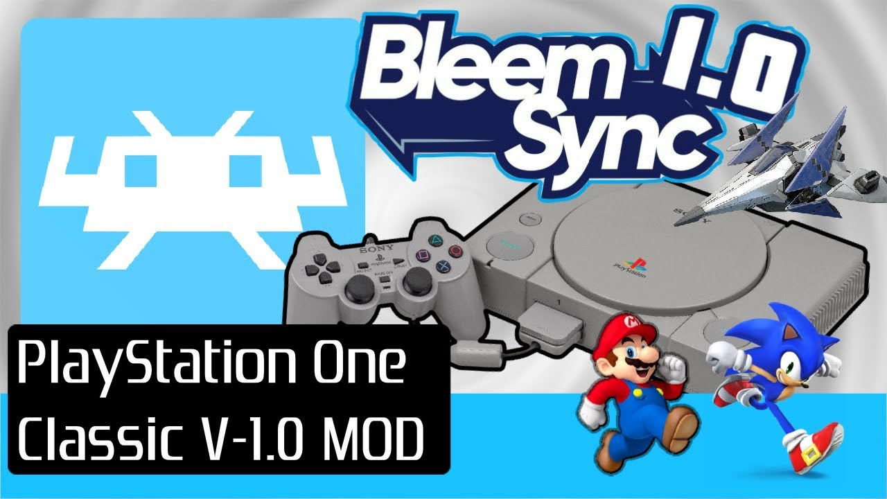PlayStation 1 One Classic Mini Console Bleem Sync Hack: Latest 1 0