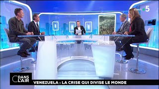 Venezuela : la crise qui divise le monde #cdanslair 25.01.2019