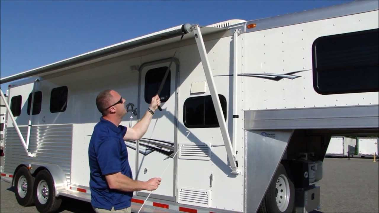 How To Operate An Awning On Your Trailer Or Rv Youtube