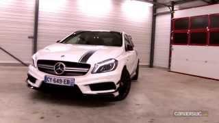 Essai Mercedes A45 AMG par Soheil Ayari