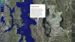Sea Level Rise Animation in Google Earth