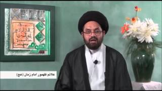 The Sings Of Reappearance Of The IMAM MAHDI AJTF Part 3  By Allama Syed Shahryar Raza Abidi