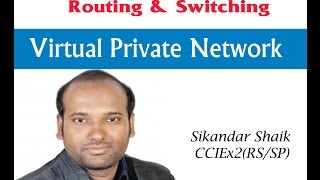 Virtual Private Network - Video By Sikandar Shaik || Dual CCIE (RS/SP) # 35012