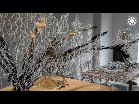 HoloLens - Create a 3D model of your room. Nice!