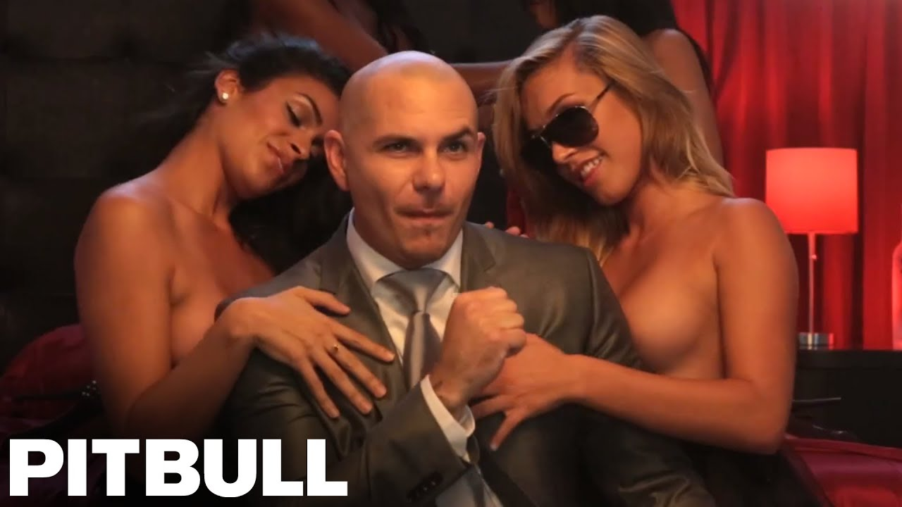 Girl in pitbull music video