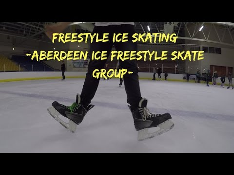 Freestyle Ice Skating - Aberdeen Freestyle Ice Skate Group