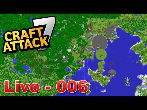 Minecraft CRAFT ATTACK 7 - SERVER RUNDTOUR & Base Bauarbeiten!