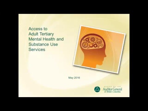 Access to Adult Tertiary Mental Health and Substance Use Services