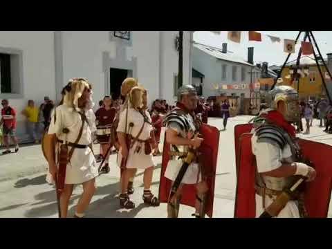 La Cohors III Lucensium presume de poderío en la Cita coa Historia