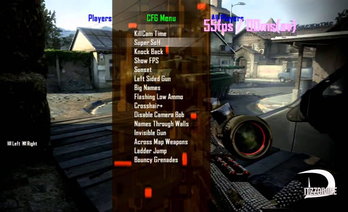 how to not die on black ops 2 mod menu