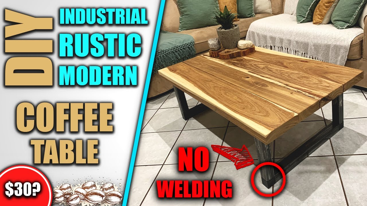 DIY Coffee Table - How To Build Your Own Coffee Table ...