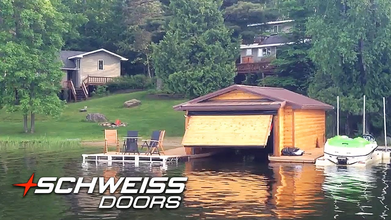 You Just Gotta See This Schweiss Door Boathouse Video