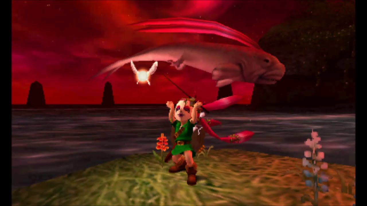 The Legend Of Zelda Majoras Mask 3d Catching The Great Fairy