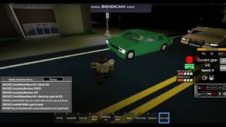 Issuing an Illegal Parking Citation in Mano County Roblox (LEO)