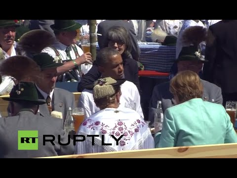 LIVE: G7 heads of state and government arrive in Munich for G7 Summit in Elmau