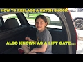 How to quickly replace a Volvo XC70 hatch shock in less than 20 minutes hatch replacement shock kit