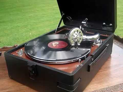 Paul Robeson 'Jerusalem' 78rpm HMV 102 Gramophone - 1958