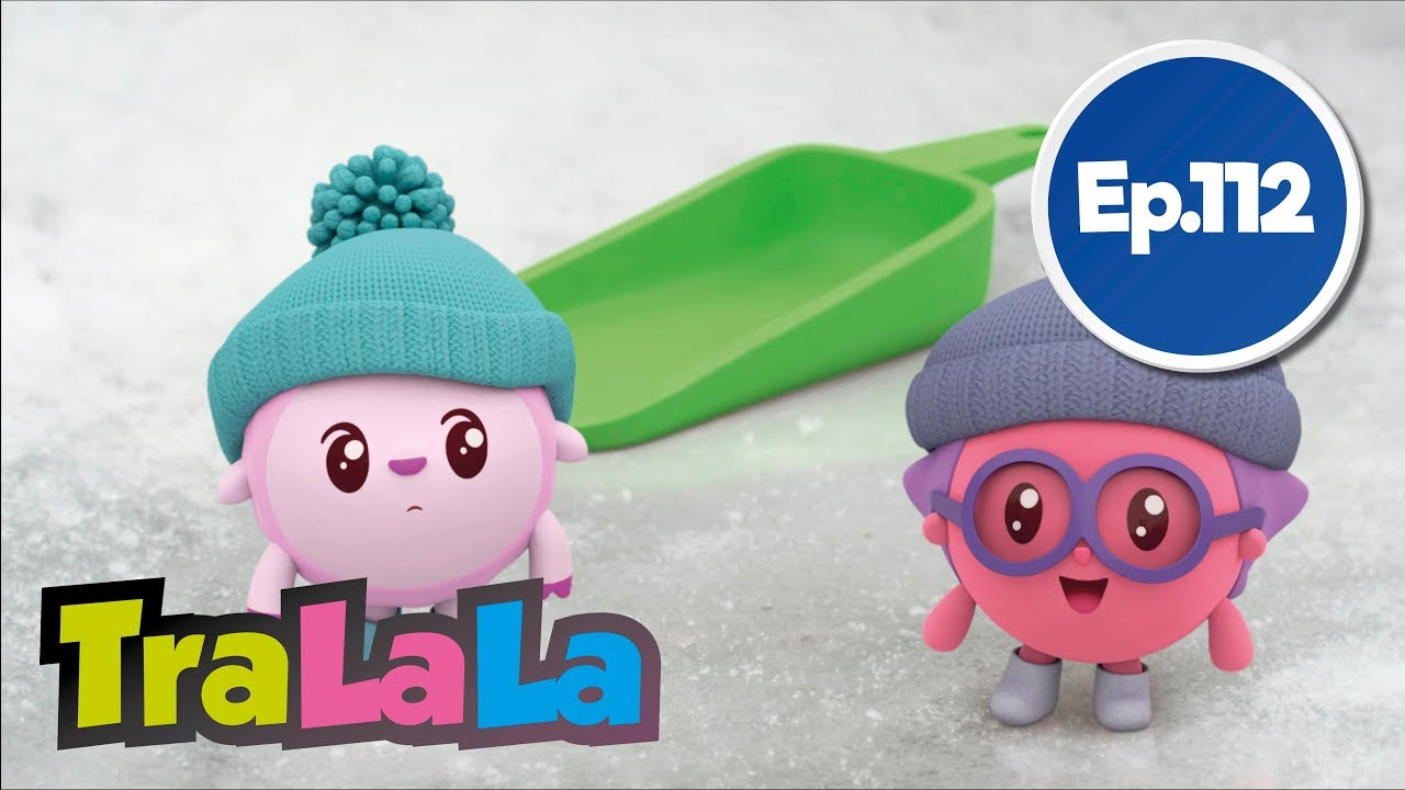 BabyRiki - Zăpada ❄️ (Ep. 112) Desene animate | TraLaLa