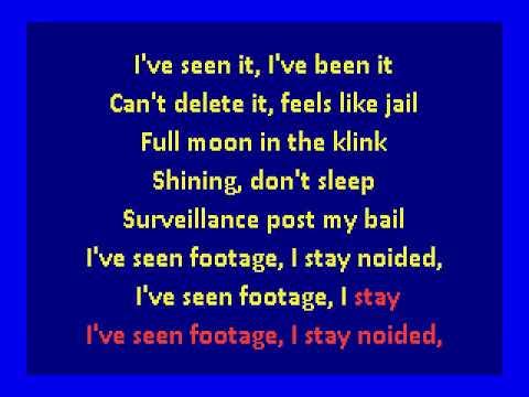 Death Grips  - I've Seen Footage (karaoke)