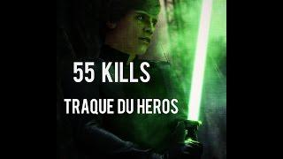 STAR WARS BATTLEFRONT : 55 Kills en traque héros ?