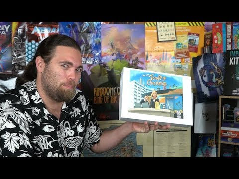 Tour Operator - Kickstarter Board Game Review