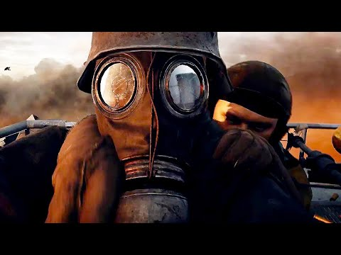 BATTLEFIELD 1 All Cutscenes Movie (WW1 World War 1)