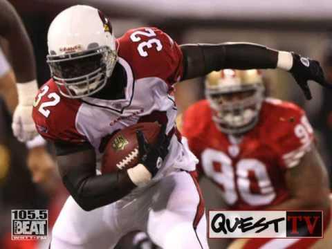 DJ Quest calls Edgerrin James of the Arizona cardinals (WATCH IN HIGH QUALITY)