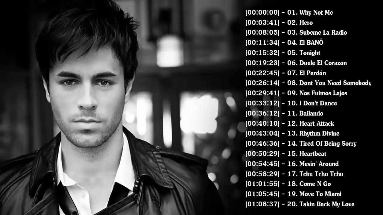 Enrique Iglesias Greatest Hits Full Album Enrique Iglesias