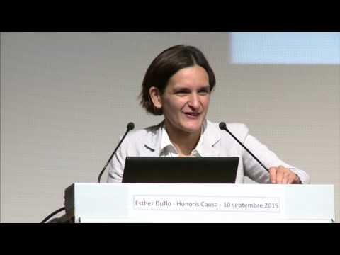 """""""L'Economie est une science humaine qui peut être généreuse et engagée"""" -  Esther Duflo, HEC Paris"""