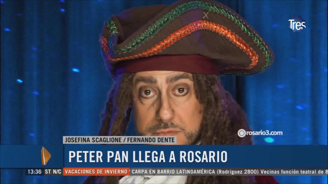 La obra para niños Peter Pan llega a Rosario - YouTube c744d14c023