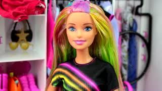 Tęczowa Barbie  Metamorfoza włosów ✳️ Toys Land