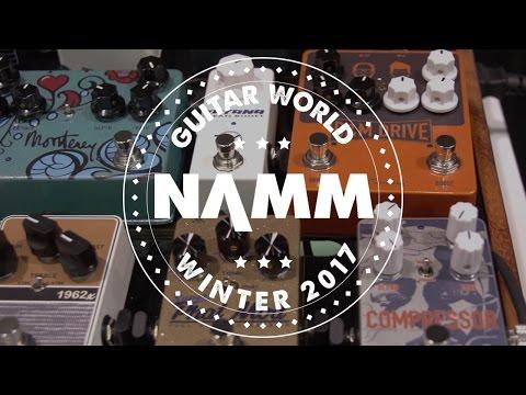 NAMM 2017 - Keeley Engineering -  D&M Drive, Filaments, Super Phat Mod Pedals